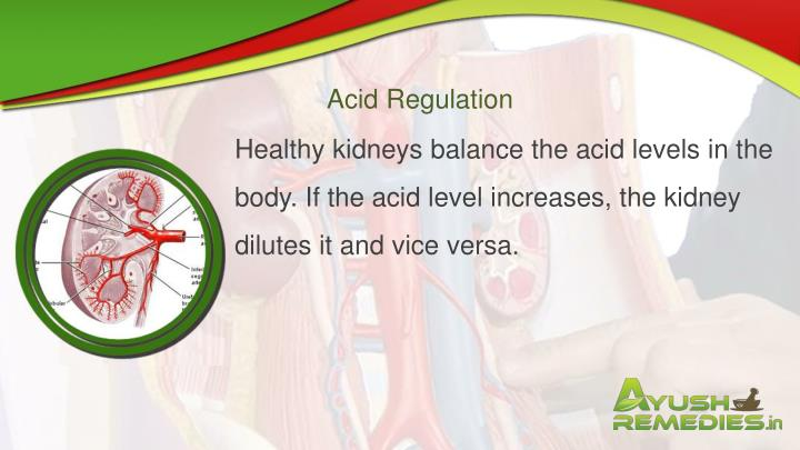 Acid Regulation