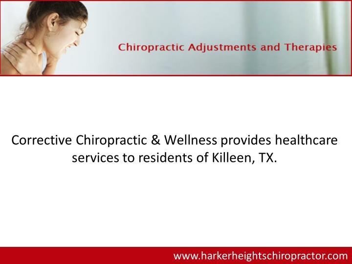 Corrective Chiropractic & Wellness provides healthcare