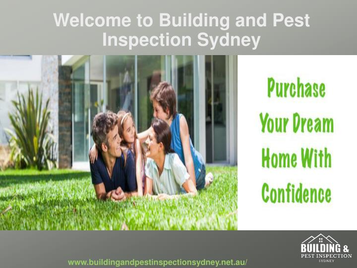 Welcome to building and pest inspection sydney