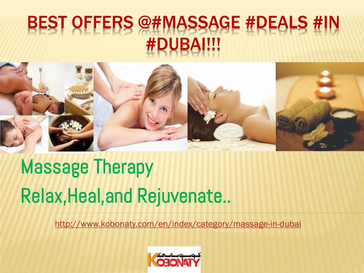 massage therapy relax heal and rejuvenate
