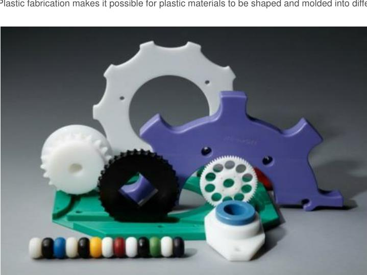 Plastic fabrication makes it possible for plastic materials to be shaped and molded into different f...