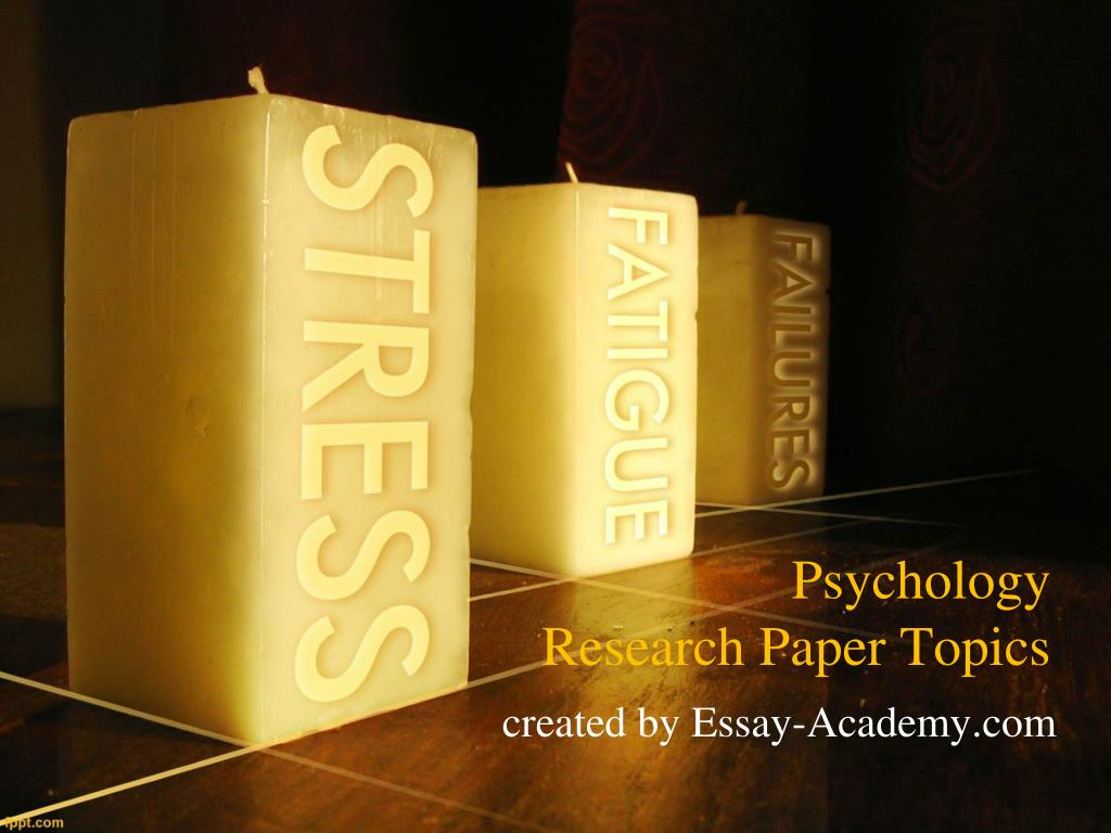 psychology research essay topics