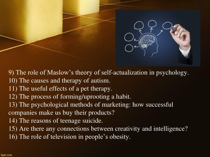 the role of theory in psychological research Using the dualistic model of passion (dmp), the purpose of the present paper is to show the role of passion for activities in sustainable psychological well-being.