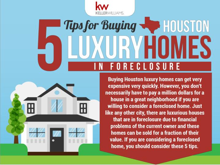 Five tips for buying houston luxury homes in foreclosure
