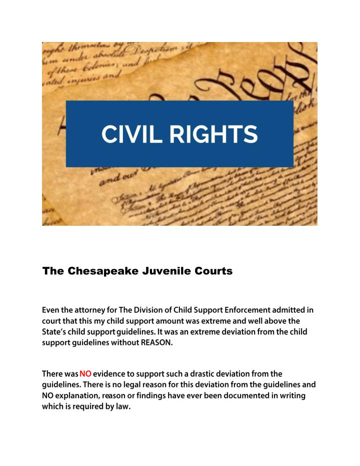 The Chesapeake Juvenile Courts