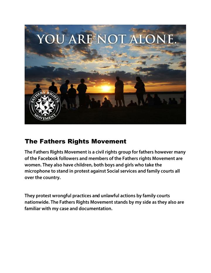 The Fathers Rights Movement