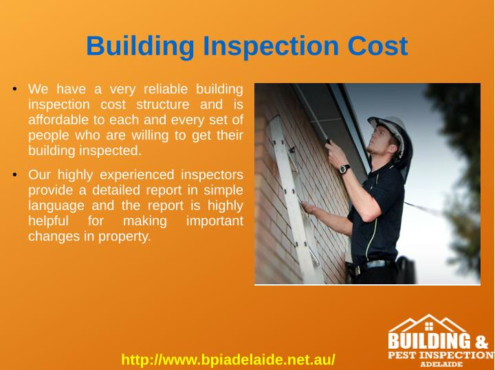 Building Inspection Cost