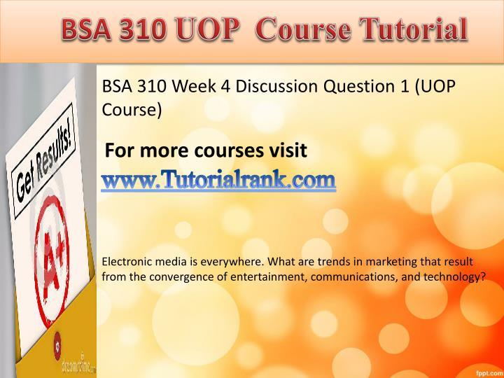 bsa 310 week 3