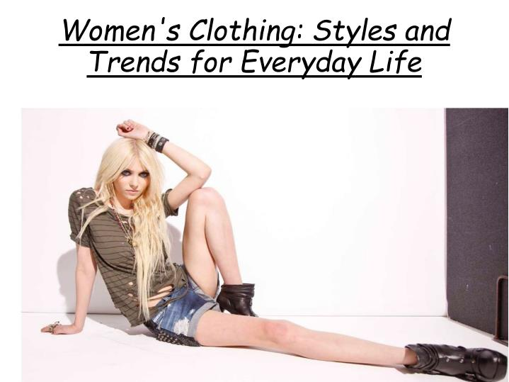 women s clothing styles and trends for everyday life n.