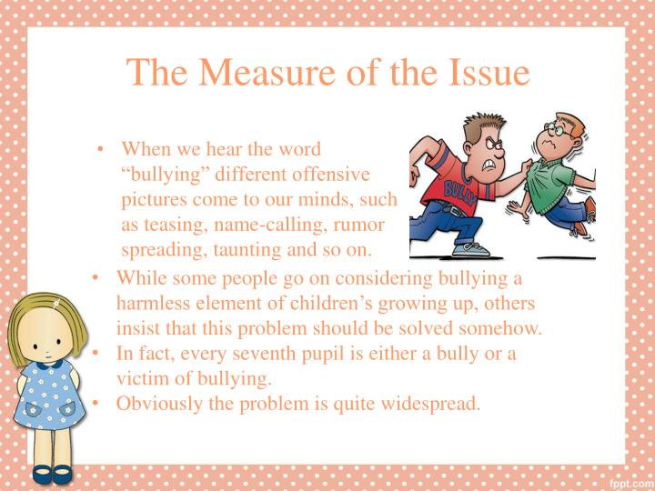 The measure of the issue