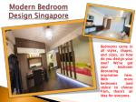 modern bedroom design singapore