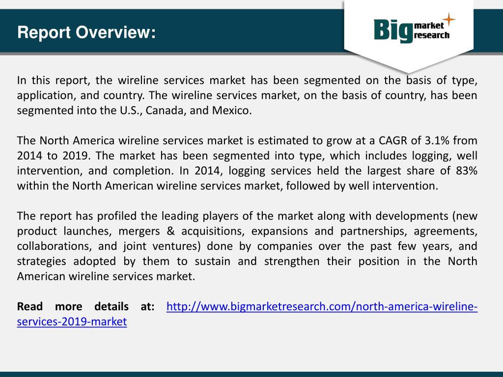 PPT - Wireline Services Services Market in North America