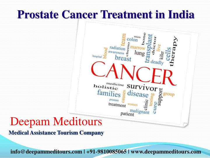 Ppt Prostate Cancer Treatment In India Powerpoint Presentation Id 7192873