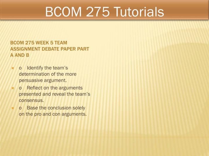 bcom 275 chilean miner Research additional articles and information about the chilean mine collapse bcom 275 week 4 individual assignment knowing your audience paper and communication release write a 700- to 1,050-word.