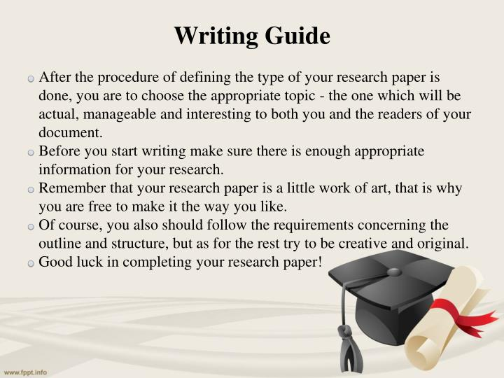 types of research papers review