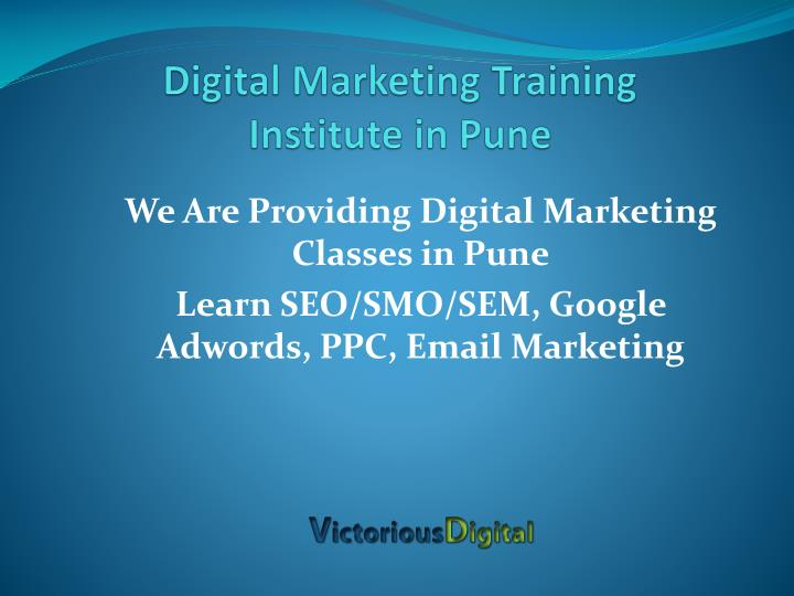 d igital marketing training institute in pune n.