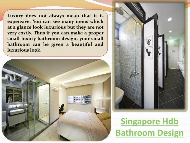 Singapore hdb bathroom design