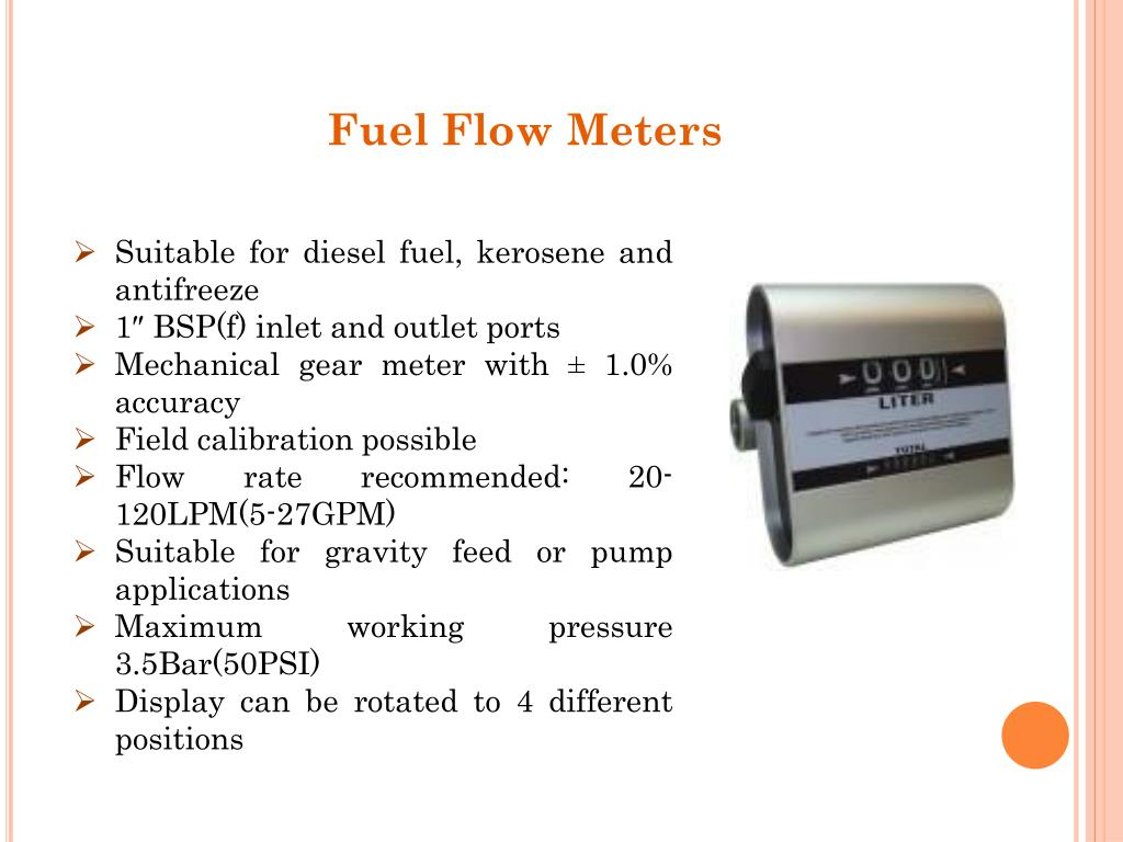 PPT - Get High Quality Fuel Flow Meters PowerPoint