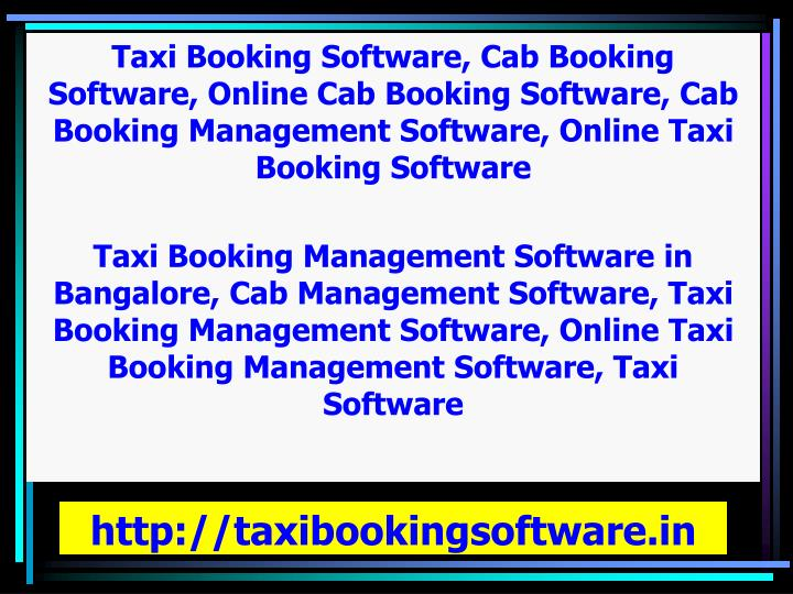 http://taxibookingsoftware.in