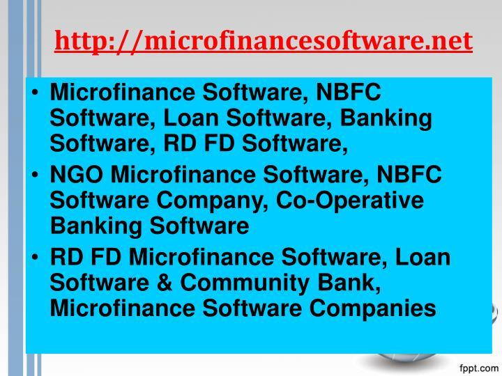 http://microfinancesoftware.net