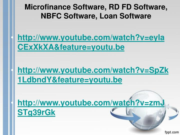 Microfinance Software, RD FD Software, NBFC Software, Loan Software