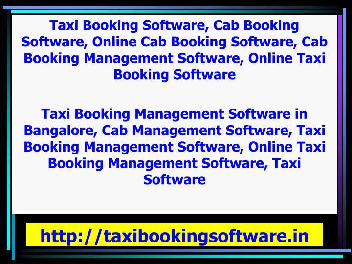http://taxibookingsoftware.in