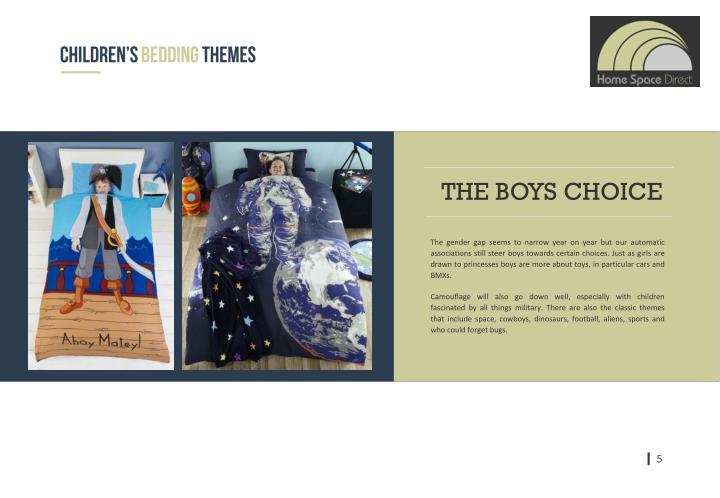 THE BOYS CHOICE