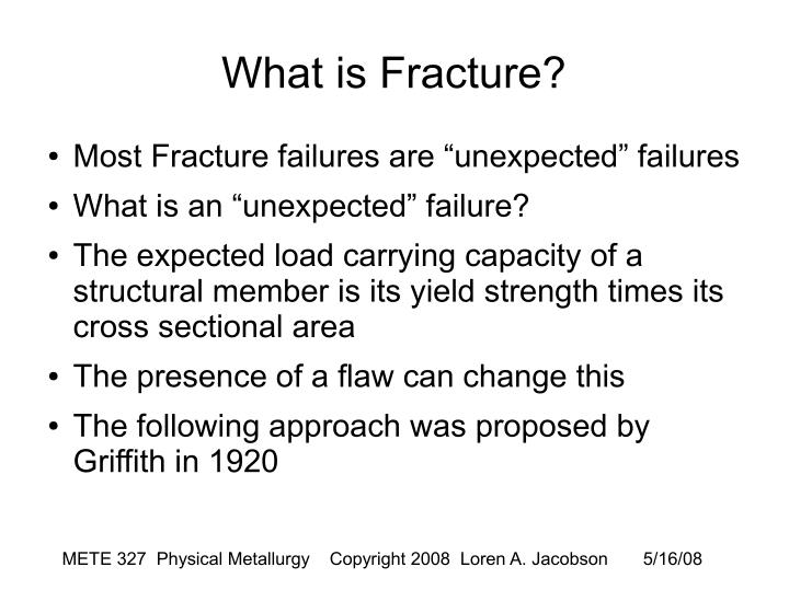 What is Fracture?