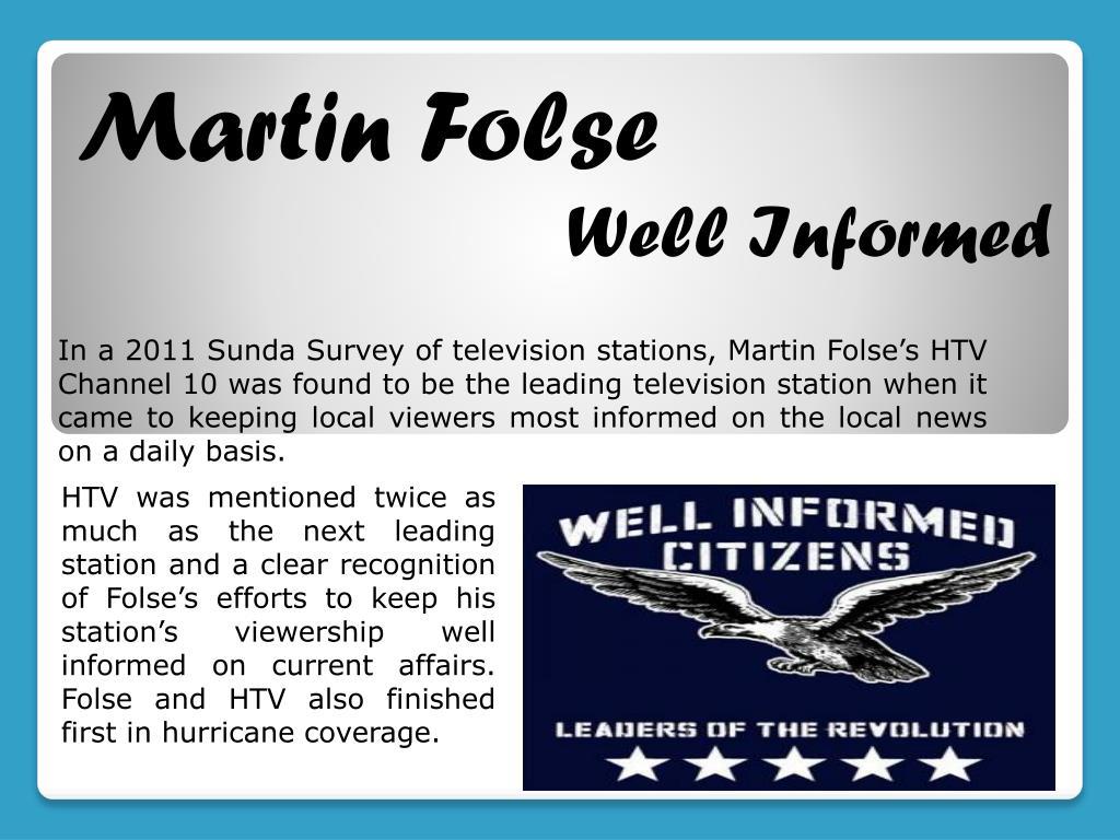PPT - Martin Folse Professional PowerPoint Presentation - ID:7195281