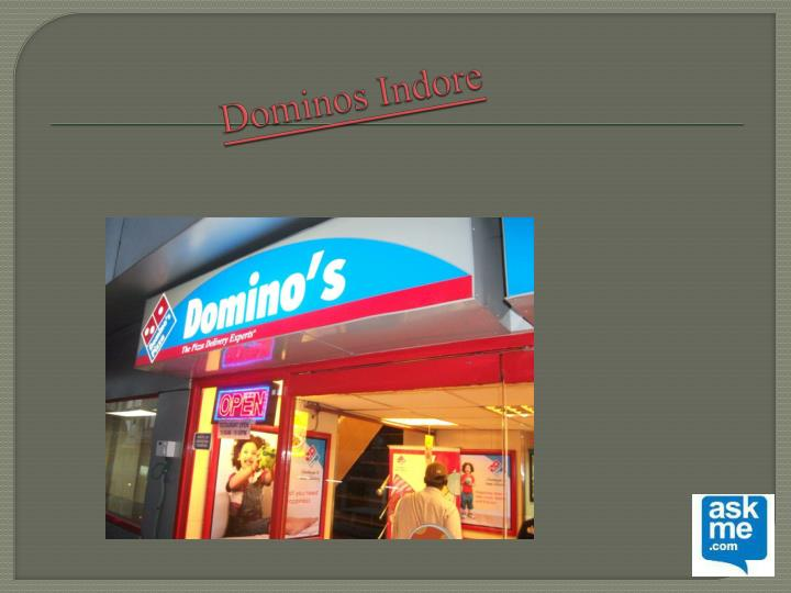ppt on dominos Find the perfect job for you as a part of domino's supply chain team and discover the possibilities and career growth.