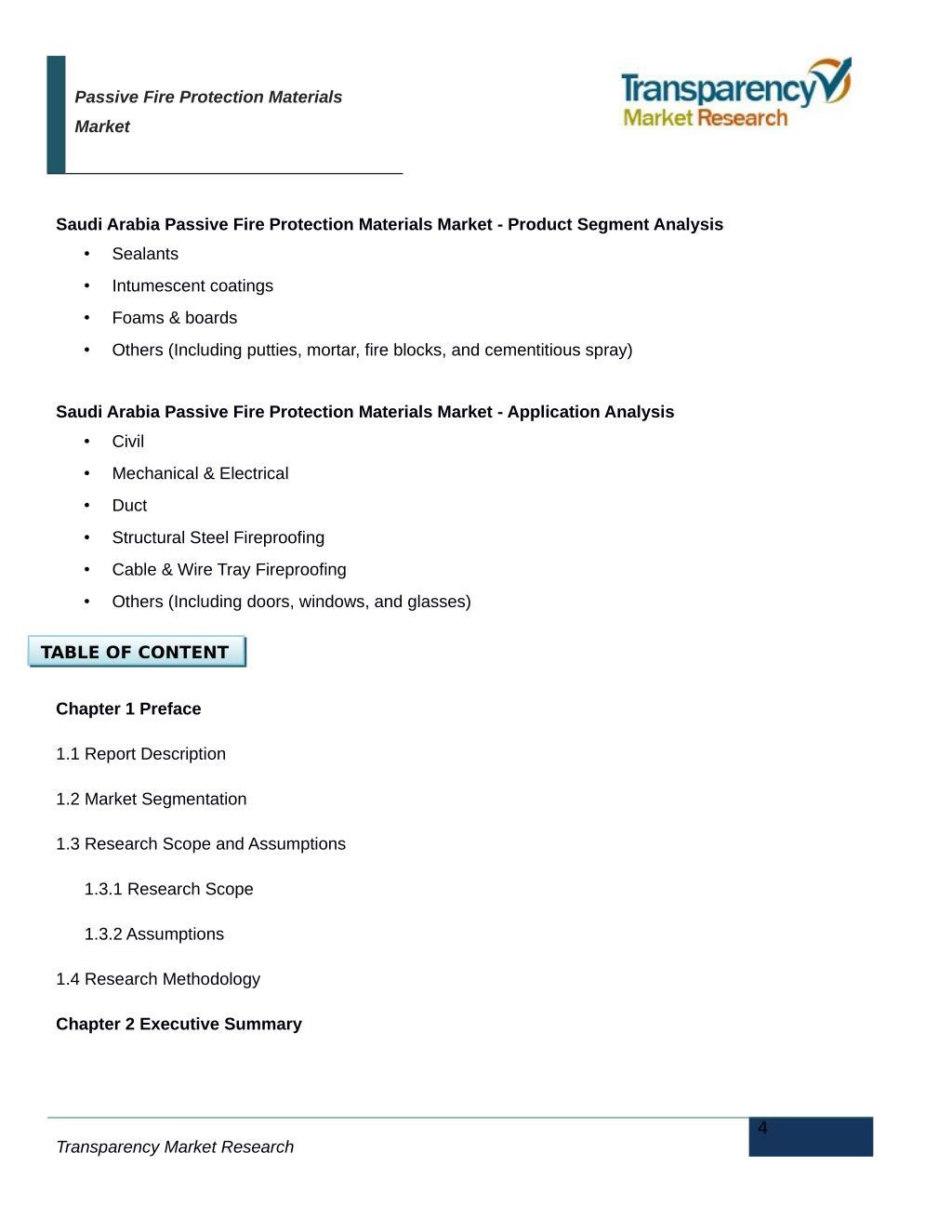 PPT - Passive Fire Protection Materials - Saudi Arabia