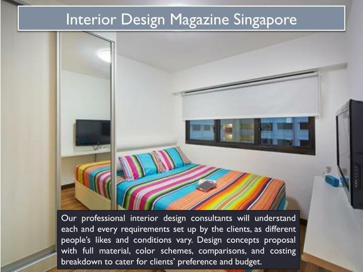 Interior Design Magazine Singapore