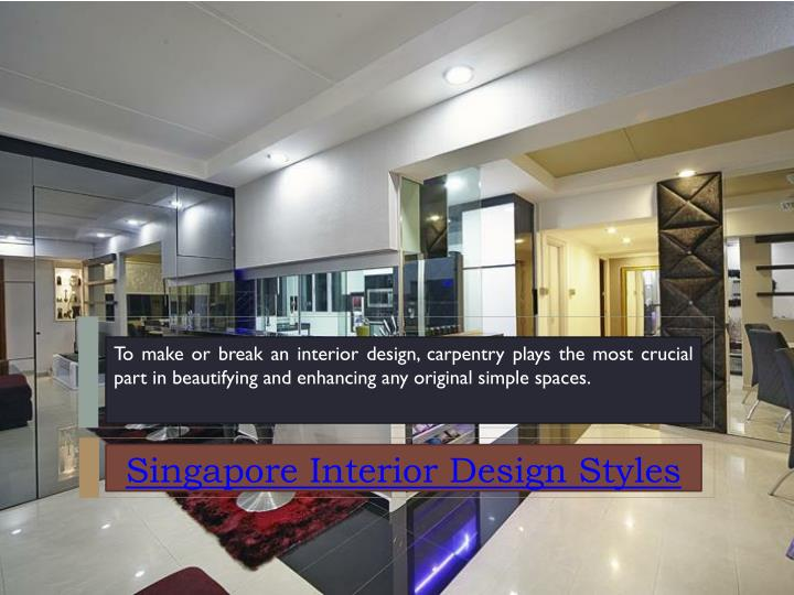 To make or break an interior design, carpentry plays the most crucial part in beautifying and enhanc...