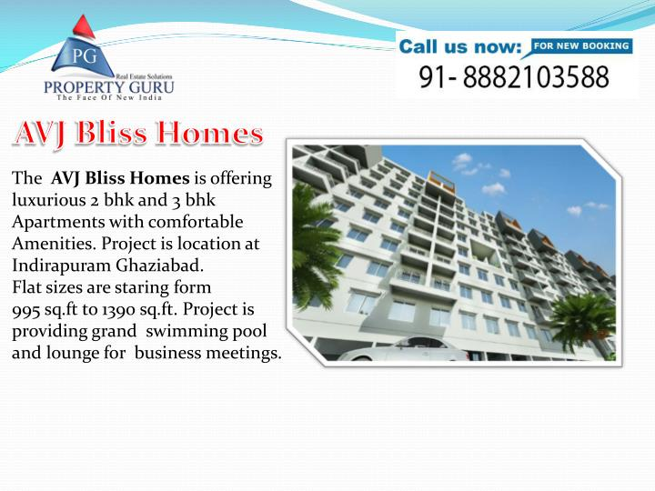 AVJ Bliss Homes