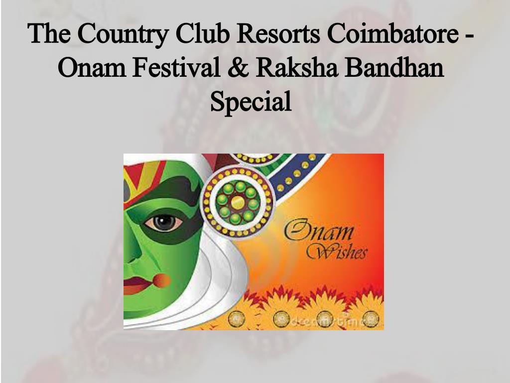 Onam-the festival of flowers.