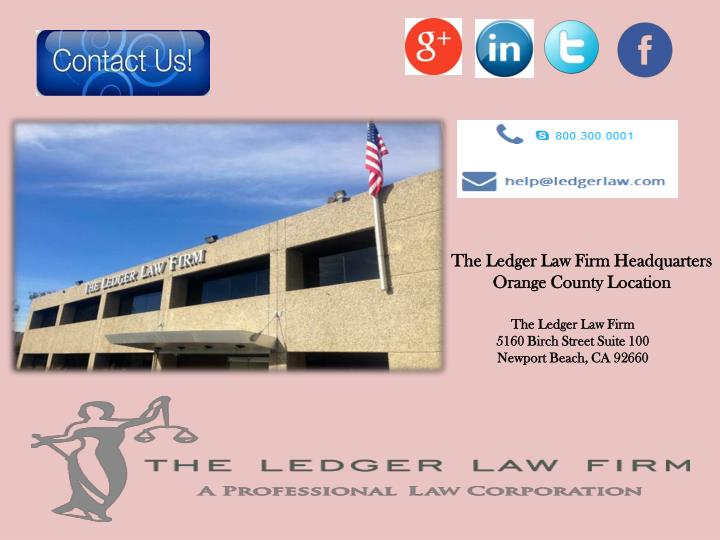 The Ledger Law Firm Headquarters