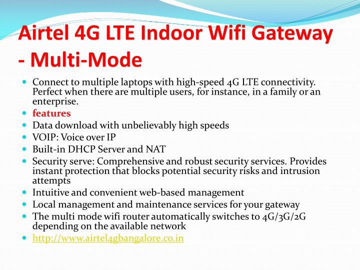 how to use airtel 4g dongle as wifi