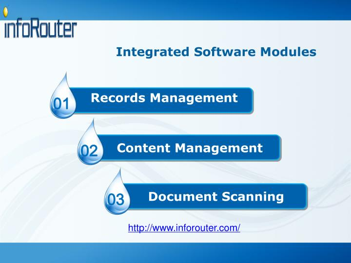 Integrated Software Modules