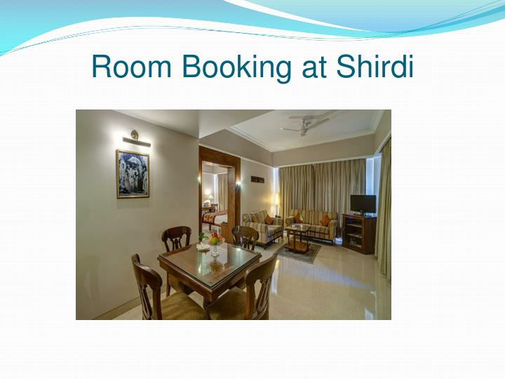 Room Booking at