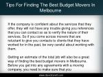 tips for finding the best budget movers in melbourne5