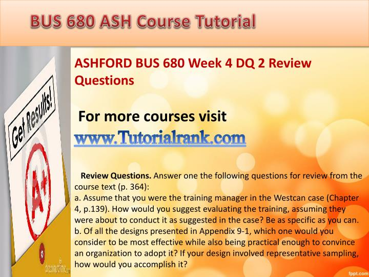 ashford bus 303 week 4 discussions Bus 590 week 3 discussions ashford follow this link to get this tutorial: contact us at: help@mindblowsus bus 590 week 3 discussions ashford case 6-30 service organization segment reporting [lo6-4] music teachers, inc, is an.