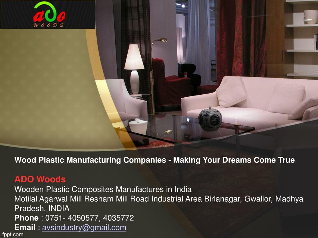 PPT - Wood Plastic Manufacturing Companies - Making Your