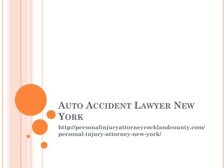auto accident lawyer new york n.