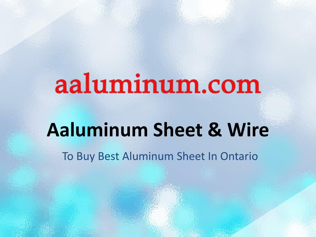When Was Aluminum Wiring Used In Ontario