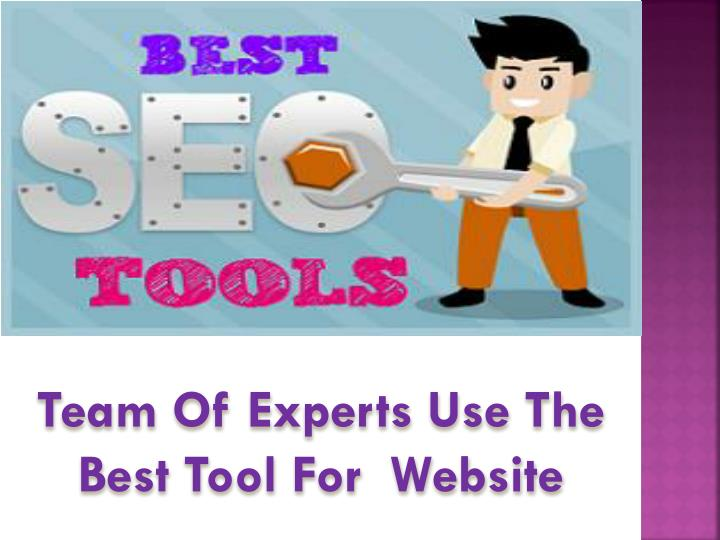Team Of Experts Use The