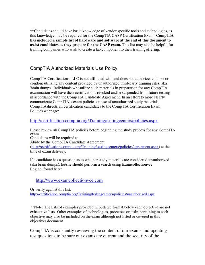 Ppt Comptia Cas 002 Vce Outline Powerpoint Presentation Id7198134