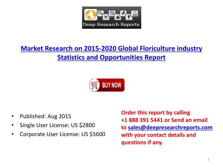 Market Research on