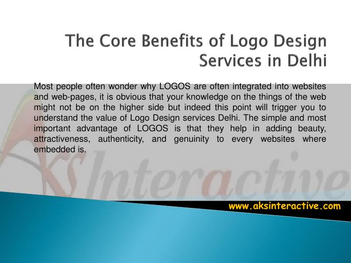 the core benefits of logo design services in delhi n.