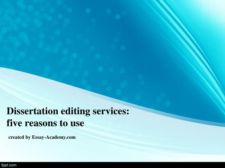 professional editor for dissertation It offers professional assistance in dissertation editing and other research documents dissertation editing services by editnpublish professionals we have 75+ phd editors for assisting doctoral candidates with their academic documents.