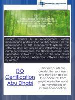 iso certification abu dhabi
